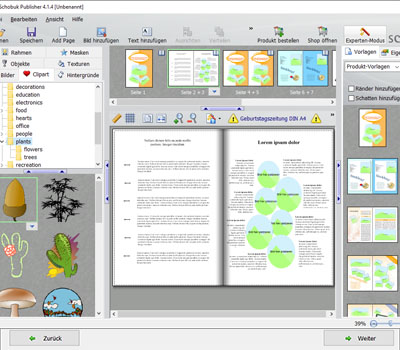 Geburtstagszeitung Kostenlose Software Deckblatt Layouts